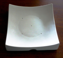 "Square Sushi Plate - 911G - 7.5 ' x 1"" Deep"