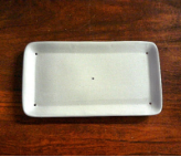 Small Rectangle Plate 7""