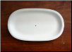 Oval Soap Dish 7.5""