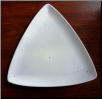 Large Triangle Luncheon Plate 12.75""