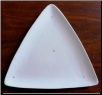 Small Triangle Luncheon Plate 7.75""