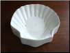 372 - Shell Mold with flat bottom