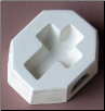 Cross Casting Mold 1.75""