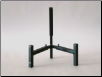 "Adjustable Easel Stand - ETS710 - Holds 7"" to 18"" glass. Arms adjust up/down/in/out."