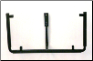 "Adjustable Square Wall Stand - SWS1220 - Holds 12.25"" to 20 "" glass. Arms adjust up/down/in/out."