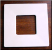 Small Square Drop Ring Mold 8.25""