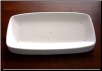 Rectangle Plate 9.75""