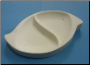 Abstract Sectional Serving Dish