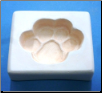 7005 - Paw Print Casting Mold
