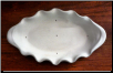 Oval Fluted Bowl
