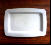 Rectangular Platter w/ Lip