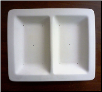 2 Section Serving Dish