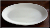 Oval Coupe Platter 19""